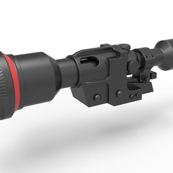 1.jpg Descargar archivo STL Alcance del Heavy Blaster Rifle DLT-19X de Star Wars • Plan para imprimir en 3D, 3DTechDesign