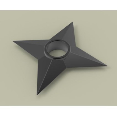 Download free 3D printing designs Shuriken 2, 3DTechDesign