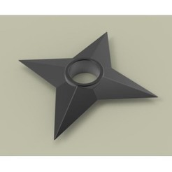 Free STL files Shuriken 2, DmK