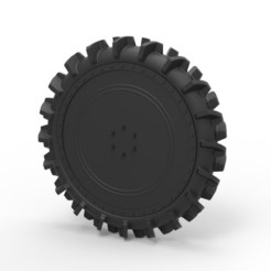 3D printer files Diecast Wheel from swamp buggy, DmK
