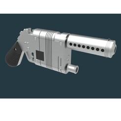 Télécharger fichier impression 3D Pistolet de sablage LPA NN-14 de STAR WARS, 3DTechDesign
