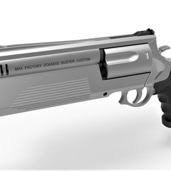 1.jpg Download STL file Zoanoid Buster revolver from the Guyver • 3D printing object, 3DTechDesign