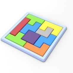 Free 3D printer model Puzzle, DmK