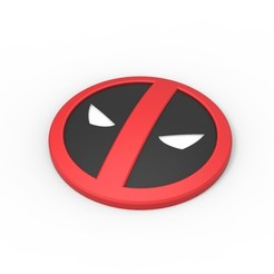 Download 3D print files 3D printable Deadpool emblem, DmK