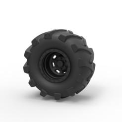 Descargar modelos 3D Diecast Offroad rueda 21, DmK