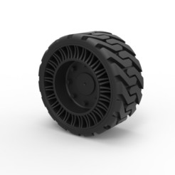 Download 3D printer model Diecast Twheel version 2 from Front loader, 3DTechDesign