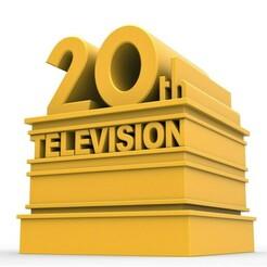 1.jpg Télécharger fichier STL Logo de la 20e télévision imprimable en 3D • Plan imprimable en 3D, CosplayItemsRock