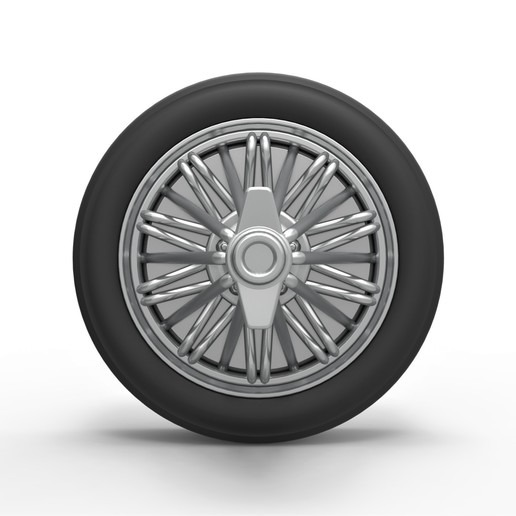 6.jpg Download STL file Diecast slab wheel Scale 1 to 10 • 3D print design, CosplayItemsRock
