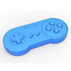 Download 3D printer designs Old school game controller Scale 1 to 2 Keychain, DmK