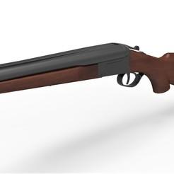 Descargar archivo STL Escopeta de doble cañón Boomstick de The Evil Dead • Modelo imprimible en 3D, 3DTechDesign