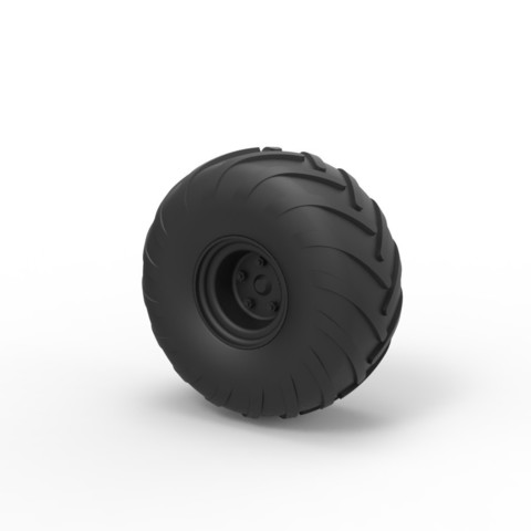 Modelos 3D Rueda Diecast de Argo, DmK