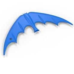 1.JPG Télécharger fichier STL Batarang 1966 • Design imprimable en 3D, 3DTechDesign