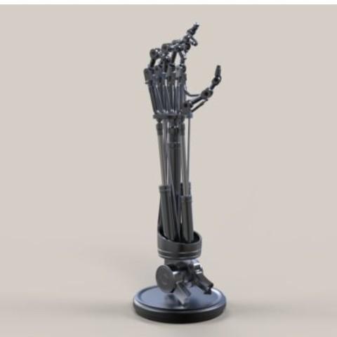 3D printing model Arm of Terminator T-800, DmK