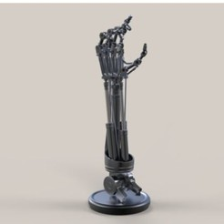 3D printing model Arm of Terminator T-800, DmK