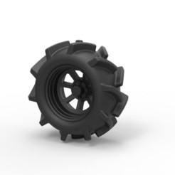 Download 3D printer designs Diecast Offroad wheel 15, DmK