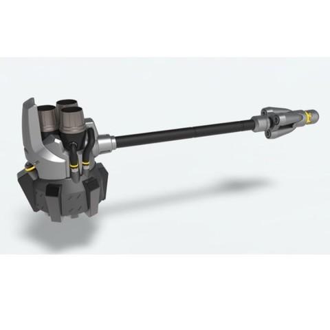 3D printer files Reinhardt hammer from game Overwatch, DmK