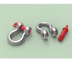 Télécharger objet 3D gratuit Manille d'ancrage G-209, 3DTechDesign