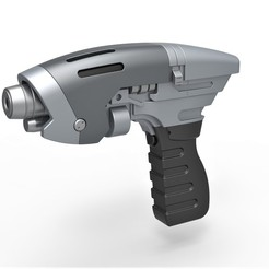 Télécharger modèle 3D Pistolet phaser Starfleet de Star Trek Enterprise, 3DTechDesign