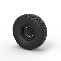 3D print files Diecast Offroad wheel 29, DmK