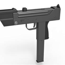 1.jpg Download STL file Modified MAC-11 from the movie Total recall 1990 • 3D printing template, CosplayItemsRock