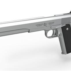 1.jpg Download STL file Pistol AMT Hardballer Long Slide • 3D print object, CosplayItemsRock