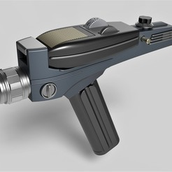 Descargar modelos 3D para imprimir Réplica precisa de Phaser de Star Trek The Original Series, 3DTechDesign