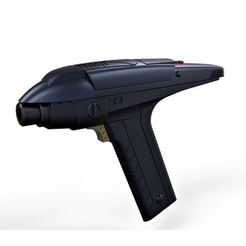 Download STL Accurate replica of Phaser from Star Trek Discovery Section 31, 3DTechDesign