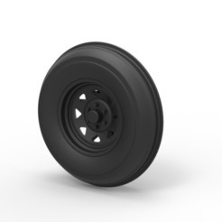 Download 3D printing files Diecast Front wheel for Dune Buggy, DmK