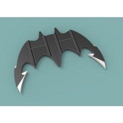 1.JPG Télécharger fichier STL Batarang 1989 • Plan à imprimer en 3D, 3DTechDesign