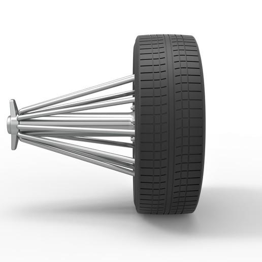 3.jpg Download STL file Diecast slab wheel Scale 1 to 10 • 3D print design, CosplayItemsRock