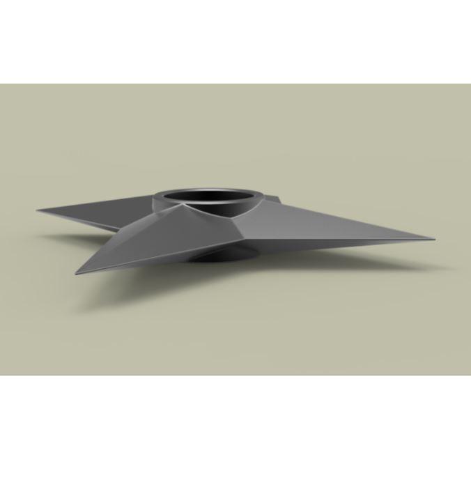 2.JPG Download free STL file Shuriken 2 • 3D printable model, CosplayItemsRock
