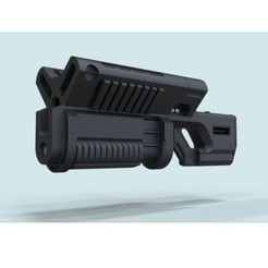 3D printing model BFG 9000 from movie DOOM, DmK