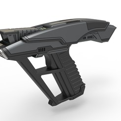 Download 3D printing models Starfleet Hand Phaser from Star Trek Picard TV series, 3DTechDesign