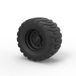 Download 3D printing models Diecast Offroad wheel 23, DmK