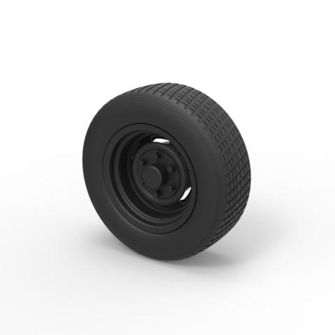 Archivos 3D Diecast Rueda de coche 2, DmK
