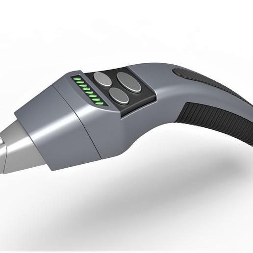 Descargar STL Fáser manual de delfines de la Némesis de Star Trek, 3DTechDesign