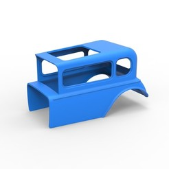 Télécharger fichier imprimante 3D Modèle en coquille moulé sous pression pour dragster de boue Hot rod Échelle 1 à 12, 3DTechDesign