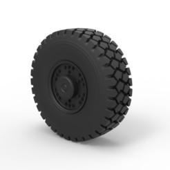 Download 3D printer designs Diecast Offroad truck wheel 1, DmK