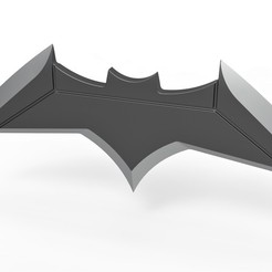 1.jpg Télécharger fichier STL Batarang - Batman vs Superman Dawn of Justice • Plan imprimable en 3D, 3DTechDesign