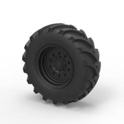 Descargar archivos STL Diecast Offroad rueda 5, 3DTechDesign
