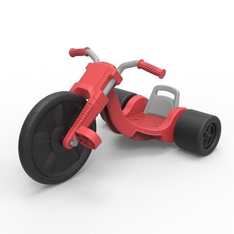 Download 3D printer files Diecast model Big flyer Scale 1:10, 3DTechDesign