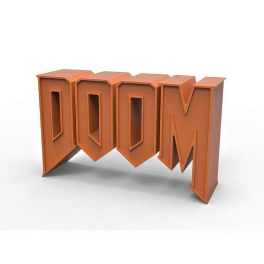Download STL file 3D printable DOOM emblem, DmK
