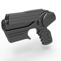 1.jpg Download STL file Peacekeeper Pulse Blaster Pistol from Farscape TV series • 3D printable template, 3DTechDesign