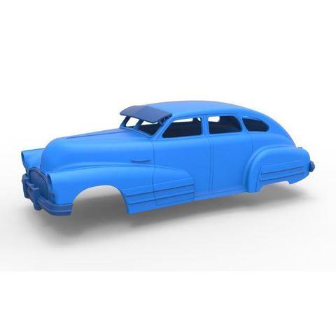 Descargar modelos 3D Diecast shell Buick Special Sedán 1947 Escala 1 a 24, 3DTechDesign