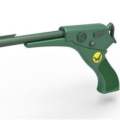 1.jpg Download STL file Gas gun from The Green Hornet TV series 1966-1967 • 3D print template, 3DTechDesign