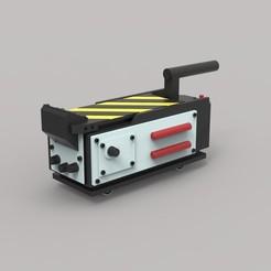 1.jpg Télécharger fichier STL Modèle réduit de piège à fantômes moulé sous pression Echelle 1:5 • Plan pour imprimante 3D, CosplayItemsRock