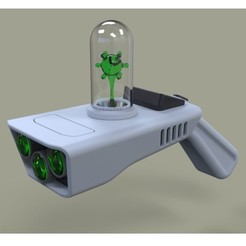 STL files Concept of Portal gun from Rick and Morty, DmK