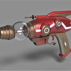 Imprimir en 3D El rayo encogedor del juego The Outer Worlds, 3DTechDesign