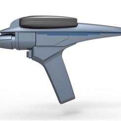 1.jpg Télécharger fichier STL Phaser Type II du film Star Trek III La recherche de Spock 1984 • Plan pour impression 3D, 3DTechDesign