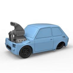 Descargar diseños 3D Diecast modelo Crazy Fiat 126p Escala 1:24, DmK